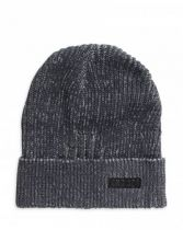 HAT-BEANIE,KNIT GREY