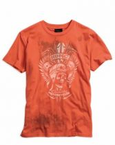 TEE SKULL GRAPHIC B/L ORANGE
