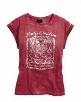 TEE-FREEDOM MACHINE,RED