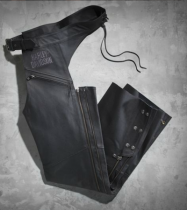 MENS TRADITION LEATHER CHAPS