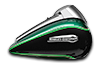 Tri Glide<sup>®</sup> Ultra - Two-Tone Deep Jade Pearl / Vivid Black
