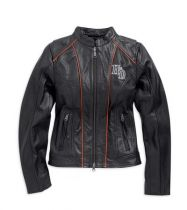 WOMAN EPOCH LEATHER JACKET