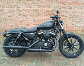 NEW Sportster XL883N Iron 2017 Denim Black