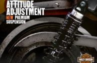​PREMIUM RIDE EMULSION SHOCKS - SPORTSTER® MODELS*