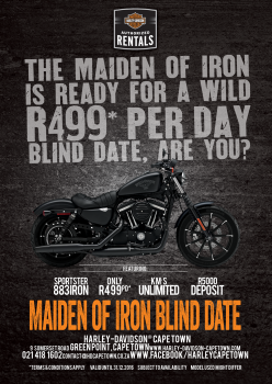 MAIDEN OF IRON BLIND DATE