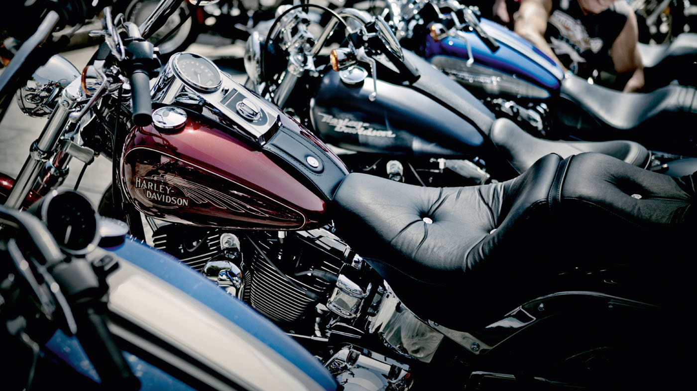 Harley-Davidson<sup>&reg;</sup> Pre-owned motorcycles