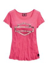 HD PINK LABEL METALLIC TEE
