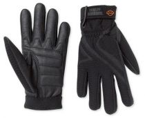 HD AIRFLOW MESH LEATHER GLOVES