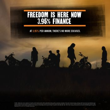 3.95% Finance  - FREEDOM IS HERE!