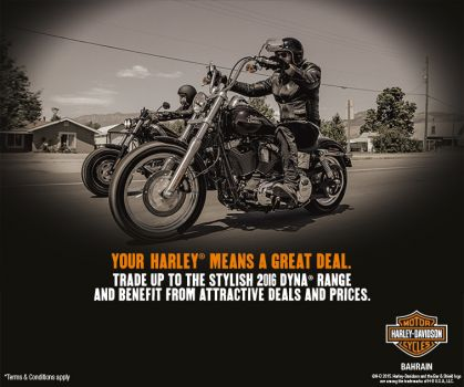YOUR HARLEY® MEANS A GREAT DEAL.