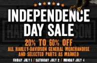 Harley-Heaven Independence Day Sale - July 1 to 4, 2016