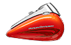 Road King<sup>®</sup> - Custom Colour Laguna Orange