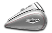 Road King<sup>®</sup> - Billet Silver