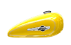 XL 1200C 1200 Custom - Corona Yellow Pearl