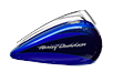 CVO™ Street Glide™ - Candy Cobalt / Indigo Ink with Mirror Chrome Aggressor Wheels