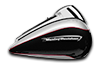 Road Glide™ Ultra - Two-Tone Billet Silver / Vivid Black