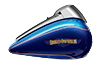 Tri Glide™ Ultra - Custom Colour Bonneville Blue / Fathom Blue
