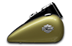 FLS Softail Slim<sup><sup>®</sup></sup> - Olive Gold