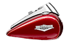 Road King<sup>®</sup> Classic - Two-Tone Mysterious Red Sunglo / Velocity Red Sunglo