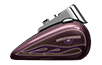 FLSTN Softail<sup><sup>®</sup></sup> Deluxe - Hard Candy Custom™ Mystic Purple Flake