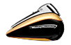 Road Glide™ Ultra - Two-Tone Black Hills Gold / Black Quartz