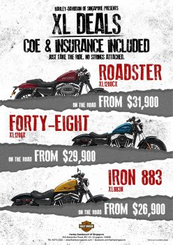 XL Deals - COE & Insurance Included