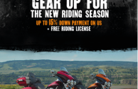 GEAR UP FOR THE NEW RIDING SEASON