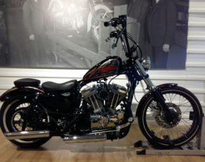 2012 Sportster XL1200V Seventy Two