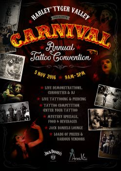 H-D® Tyger Valley: Annual Tattoo Convention 2016