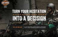 TURN YOUR HESITATION INTO A DECISION