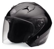 HELMET SUN SHIELD 3/4 - MATTE BLACK