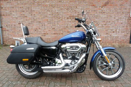 Sportster XL1200T Superlow 2015 Stage One
