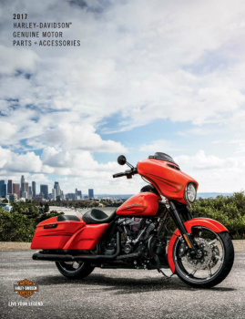 2017 Harley-Davidson Genuine Accessories Catalogue