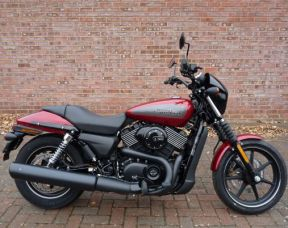 NEW Street 750 XG750 Fire Red Deluxe 2017