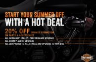 START YOUR SUMMER OFF WITH A HOT DEAL!