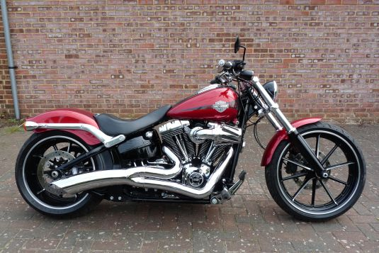 Softail FXSB Breakout 2013