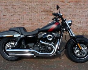 NEW Dyna FXDF Fat Bob 2017 Denim Black