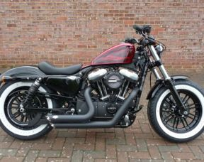 NEW XL1200X Sportster Forty Eight 2017 Full Stage One, Whitewalls