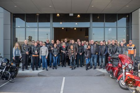 Swan River Chapter H.O.G.® Welcome Ride