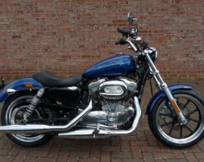 NEW XL883L Sportster Superlow 2017 Superior Blue