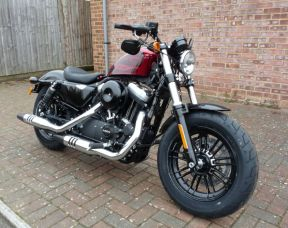 NEW XL1200X Sportster Forty Eight 2017 Hot Rod Red
