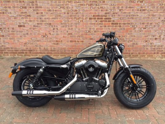 NEW XL1200X Sportster Forty Eight 2017 Black Gold Flake