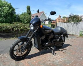 XG750 Street 750 2017 model 66 Plate Full Stage One