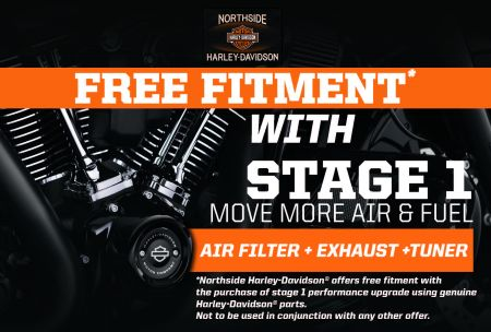 Free Fitment with any Stage 1 Upgrade