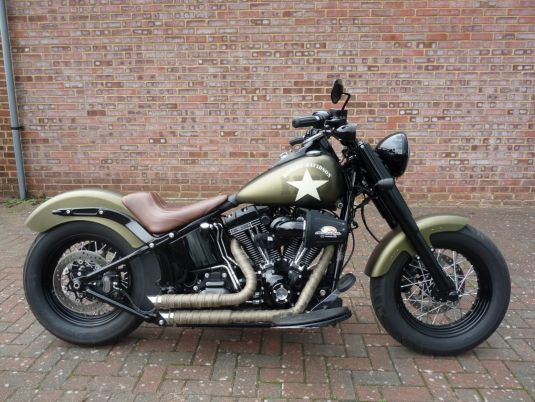FLSS Softail Slim S 2016 65 plate Full Stage One