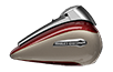 Tri Glide® Ultra - Twisted Cherry / Silver Fortune