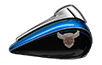 Street Glide® - Legend Blue / Vivid Black