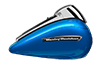 Road Glide® Ultra - Electric Blue / Silver Fortune