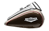 Road King® Classic - Silver Fortune / Sumatra Brown
