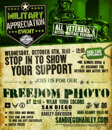 Military Appreciation Event Kearny